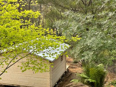 Blue Mountains Alexander Technique studio under construction